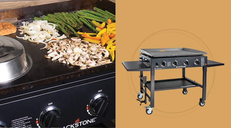 Blackstone cooking station for christmas