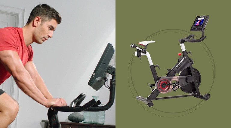 Indoor exercise bike for a christmas gift