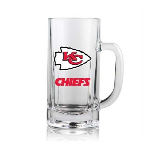 Duck House Kansas City Chiefs Clear Beer Mug