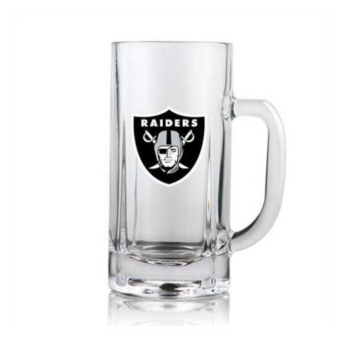 Duck House Las Vegas Raiders Clear Beer Mug