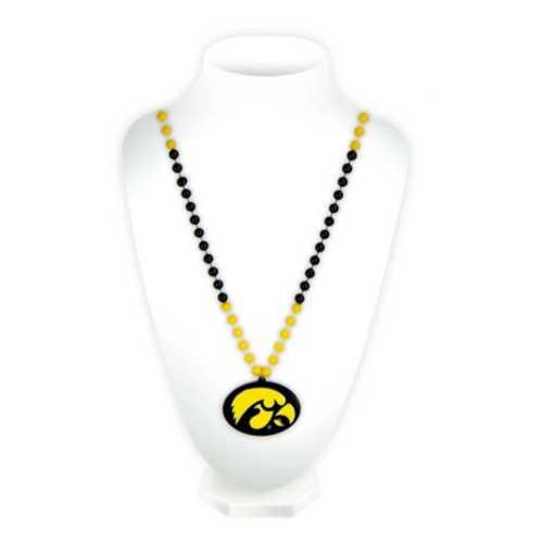 Rico Iowa Hawkeyes Medallion Beads