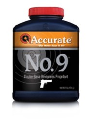 Accurate Number 9 Double-Base Smokeless Handgun Reloading Powder