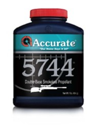 Accurate 5744 Double-Base Smokeless Rifle Reloading Powder