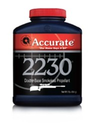 Accurate 2230 Double-Base Smokeless Rifle Reloading Powder