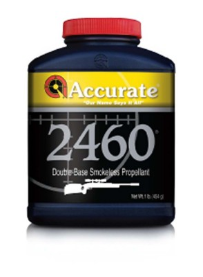 Accurate 2460 Double-Base Smokeless Rifle Reloading Powder