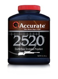 Accurate 2520 Double-Base Smokeless Rifle Reloading Powder