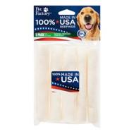 Pet Factory Natural Beefhide Chip Rolls Dog Bones