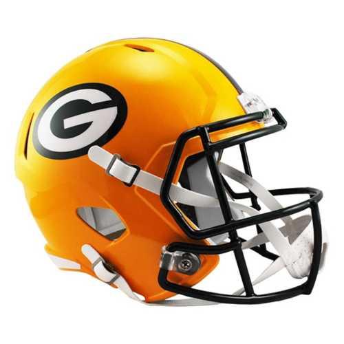 Riddell Green Bay Packers Full Size Replica Speed Helmet