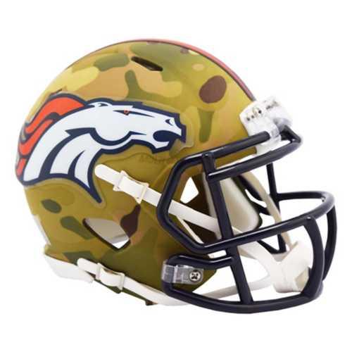 Riddell Denver Broncos Mini Camo Helmet