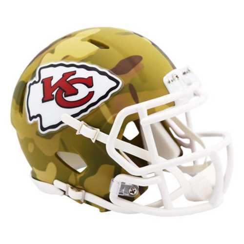 Riddell Kansas City Chiefs Mini Camo Helmet