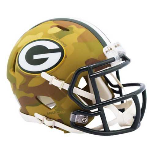 Riddell Green Bay Packers Mini Camo Helmet
