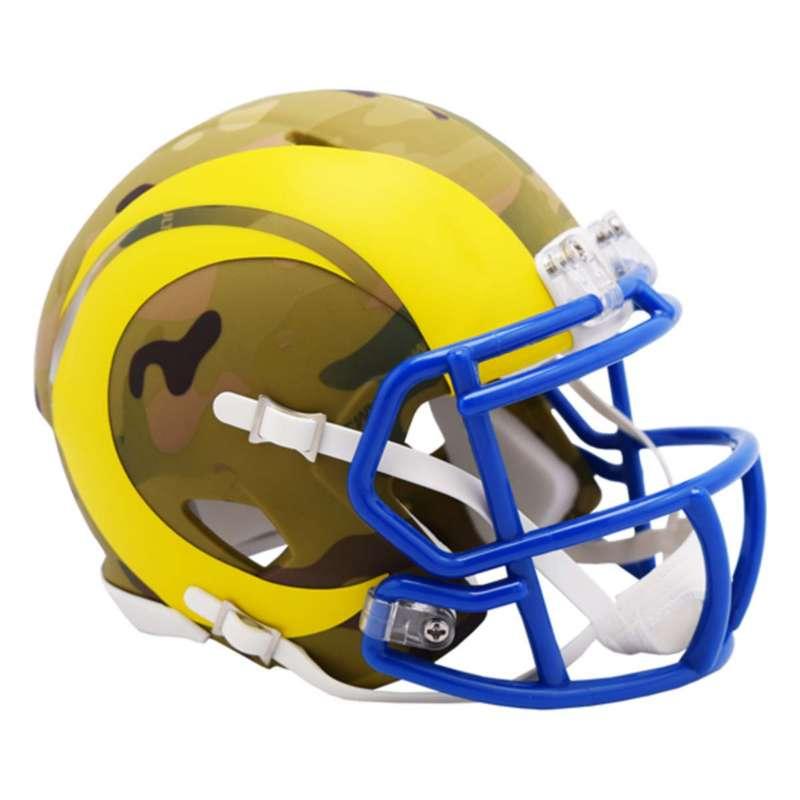Riddell Los Angeles Rams Mini Camo Helmet