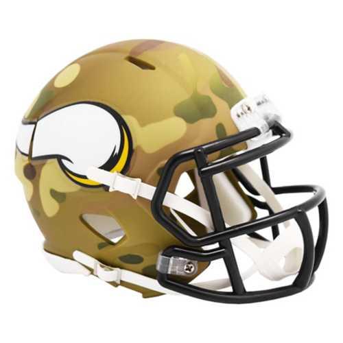Riddell Minnesota Vikings Mini Camo Helmet