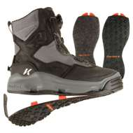 Korkers Darkhorse Wader Shoes with Felt and Kling-On Soles