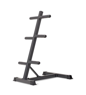Marcy Olympic Weight Plate Stand' data-lgimg='{
