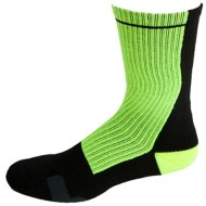 Adult Sof Sole Split 2-Pack Crew Socks