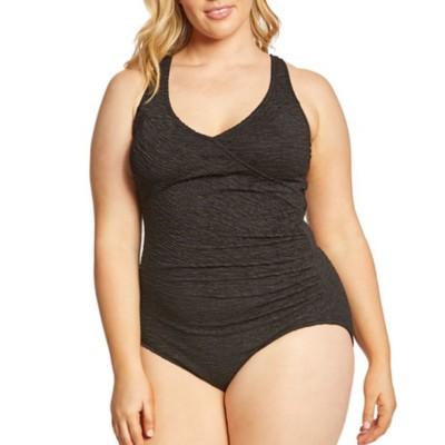 Women's Penbrooke Mock Krinkle Swimsuit