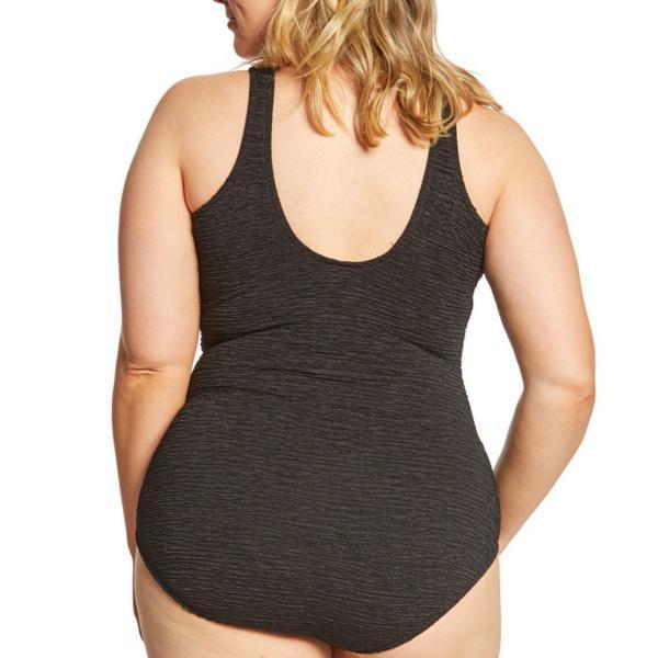 d87a8c65da9 Women s Penbrooke Plus Size Mock Krinkle Swimsuit