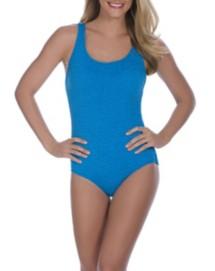 Women's Penbrooke Cross Back Krinkle Swimsuit