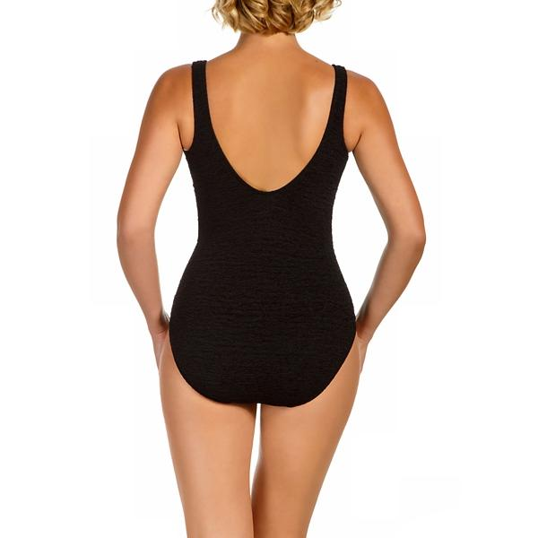 24165fbfc4704 Women s Penbrooke Plus Size Empire Krinkle Swimsuit