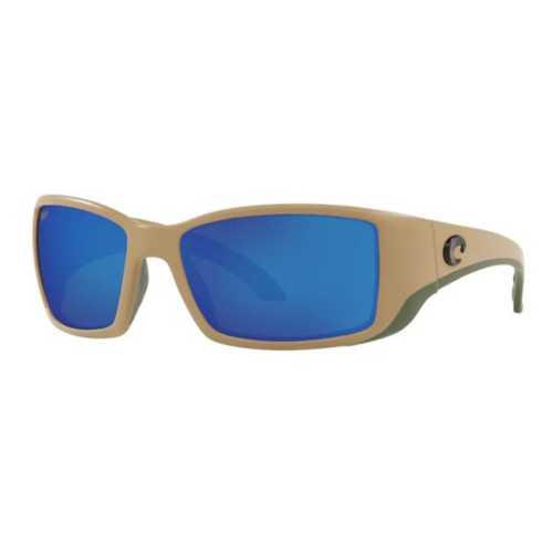 Matte Sand/Blue Mirror