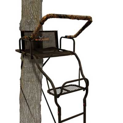Big Game Warrior Elite Ultra-Wide Ladder Treestand