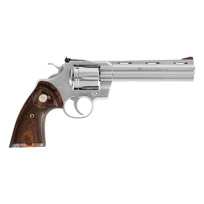 Colt Python Stainless Steel Double-Action Revolver