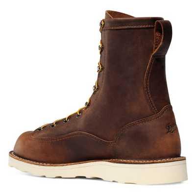 """Men's Danner Bull Run 8"""" Brown Boot"""