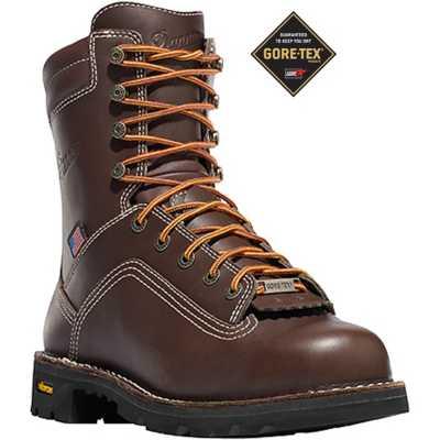 """Men's Danner Quarry USA 8"""" Brown AT"""