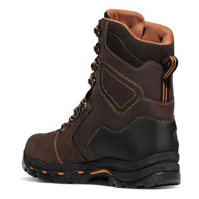 "Men's Danner Vicious 8"" Brown 400G NMT Boots"