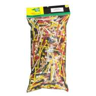 Charter Products 2-3/4 Assorted Wooden Golf Tees 1000 Pack