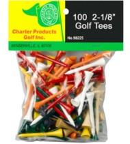 Charter Golf 2-1/8 Golf Tees 100 Pack