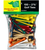 Charter Products 2-3/4 Golf Tees 100 Pack
