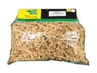Charter Products 2-3/4 Wooden Golf Tees 500 Pack