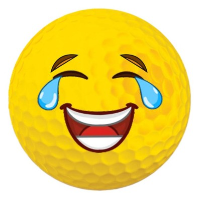 Emoji Golf Ball - LMAO