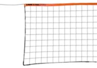 Park and Sun Sports Regulation Size Outdoor Steel Cable Volleyball Net