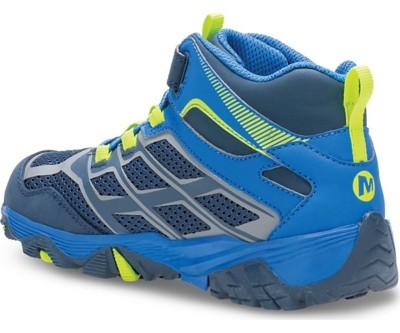 c6a92565955 Grade School Boys' Merrell Moab FST Mid A/C Waterproof Boots