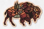 Dust City Designs Buffalo Roam Sticker