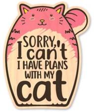 Dust City Designs Cat Plans Sticker