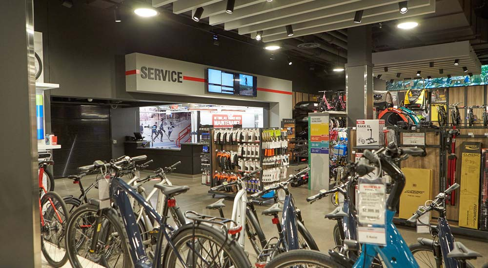 bike shop with trek bikes