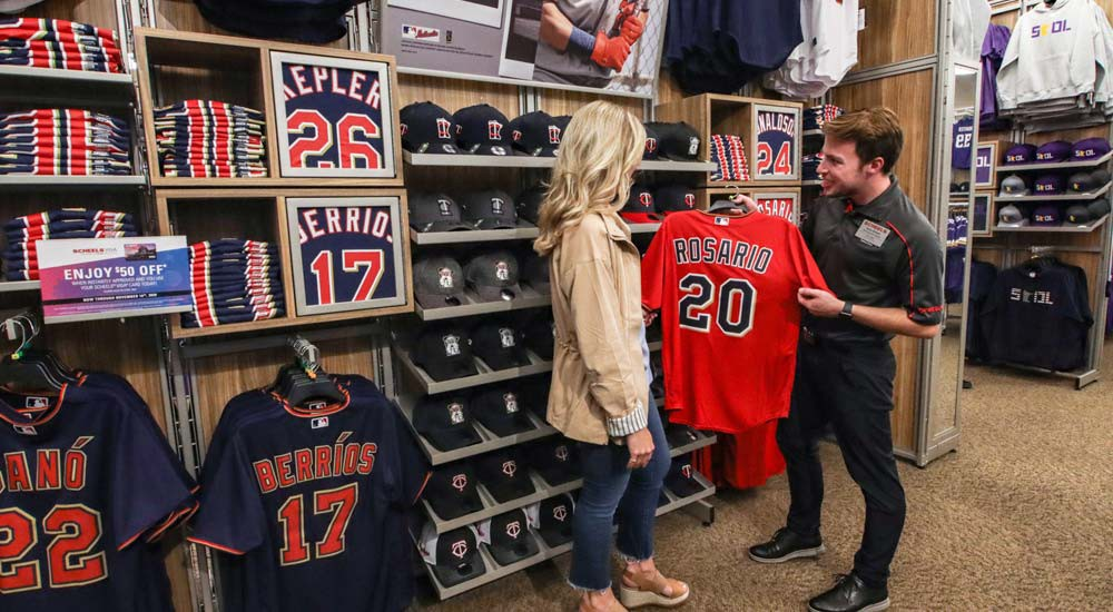 Minnesota Twins Clothing and Accessories