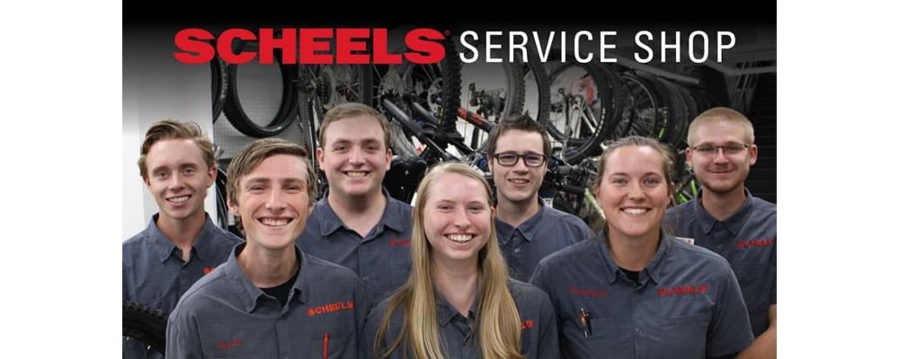 Service Shop Team Members