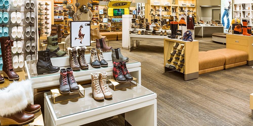 Name-Brand Footwear Shop