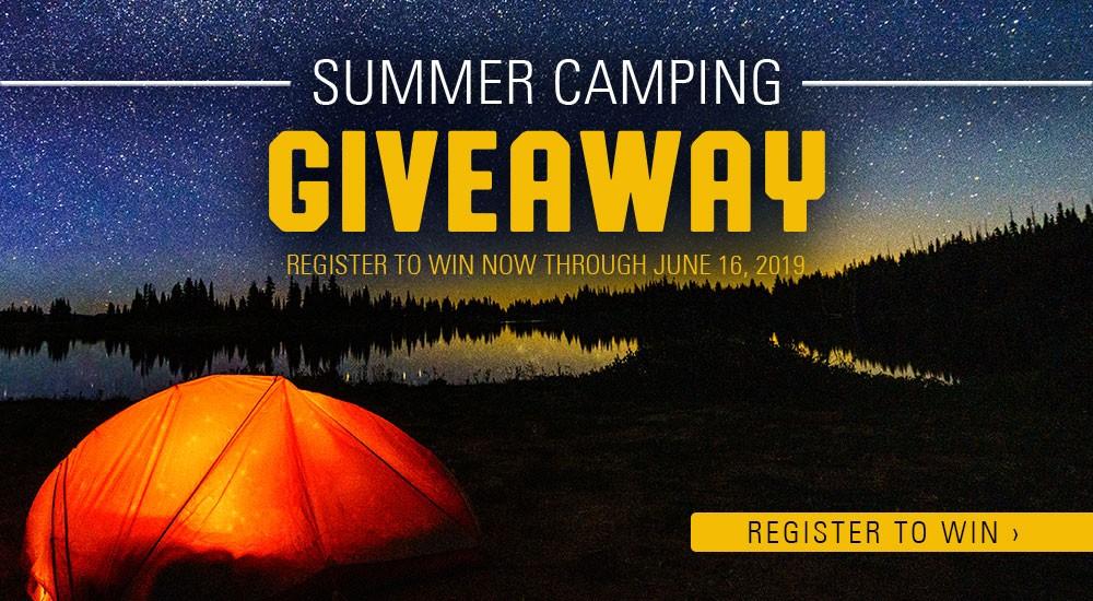 SCHEELS Summer Camping Giveaway