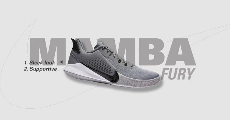 Nike Mamba Fury Basketball Shoes