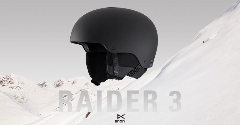Anon Raider 3 Snow Helmet