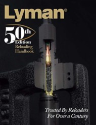 Lyman 50th Edition Soft Cover Reloading Manual