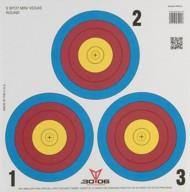 3 Spot Vegas Mini Paper Target