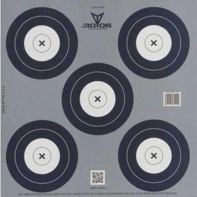 5 Spot Mini Paper Target