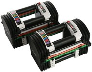 PowerBlock U-90 Stage 1 Adjustable Dumbbell Set